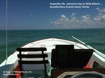 GL_adventure on Willy boat, Boca Grande Island, Florida